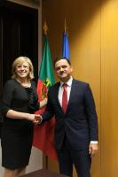 Visit by Corina Creţu, Member of the EC, to Portugal