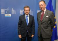 Visit of Jorge Domecq, Chief Executive of the EDA, to the EC