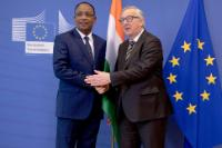 Visit of Mahamadou Issoufou, President of Niger and President in office of the G5 Sahel, to the EC