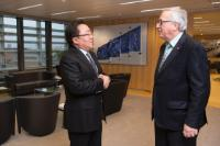 Visit of Tsakhiagiyn Elbegdorj, former President of Mongolia, to the EC