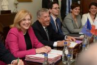 Visit by Corina Creţu, Member of the EC, and Karmenu Vella, Member of the EC, to Malta