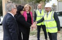 Visite de Corina Creţu, membre de la CE, et Karmenu Vella, membre de la CE, à Malte