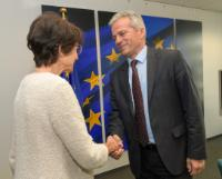 Visit of Kemal Purišić, Montenegrin Minister for Labour and Social Welfare, to the EC