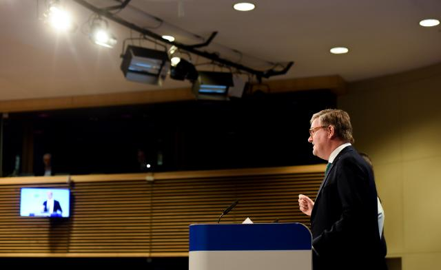 Press conference by Julian King and Mariya Gabriel, Members of the EC, on the Digital Single Market package, specifically platforms and disinformation