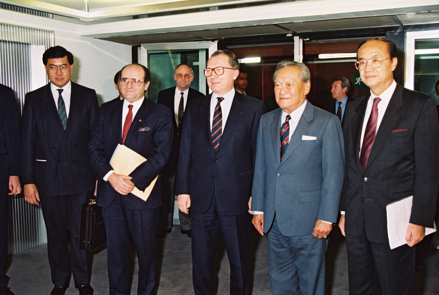 Visit of Chatichai Choonhavan, Thai Prime Minister, to the CEC