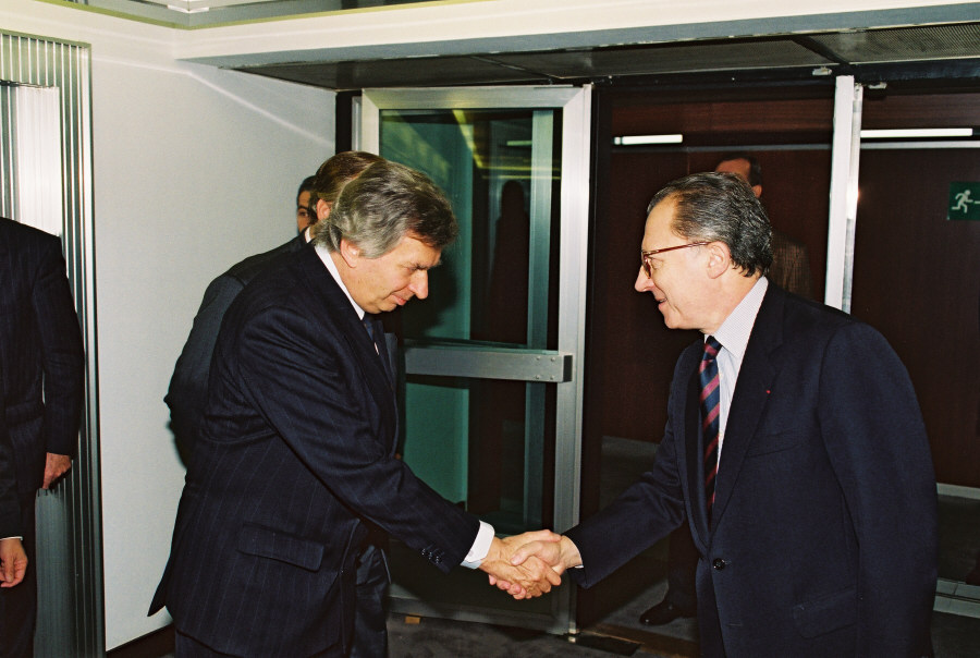 Visit of József Antall, Hungarian Prime Minister, to the CEC