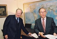 Visit by Daniel Cardon de Lichtbuer, Executive Chairman of Europa Nostra, to the EC