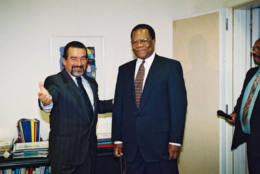 Visite de Barnabas Dlamini, Premier ministre du Swaziland, à la CE