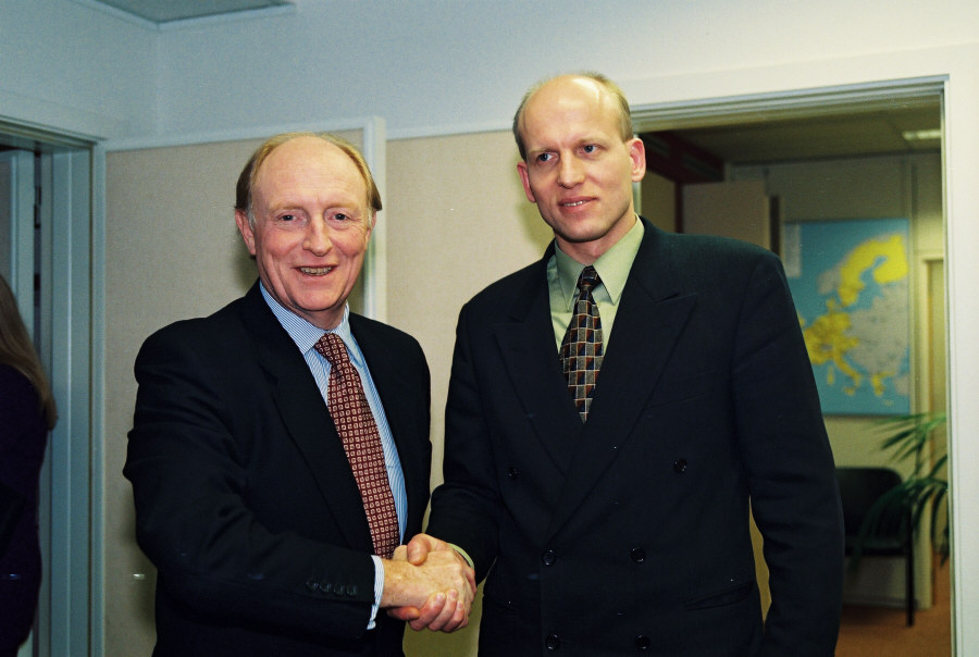 Visit of Guntars Krasts, Latvian Prime Minister, to the EC
