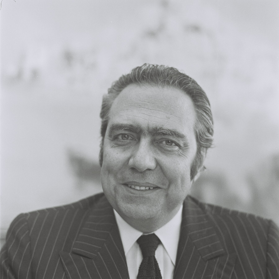 François-Xavier Ortoli, President of the CEC