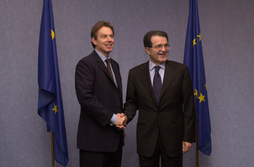 Visit of Tony Blair, British Prime Minister, to the European Commission