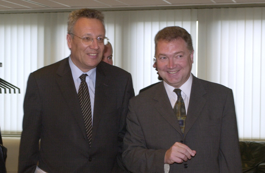 Visit of Alexander Dondukov, Russian Minister for Industry, Science and Technology, to the EC