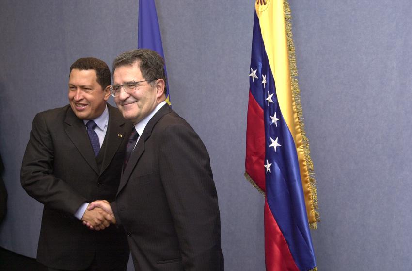 Visit of Hugo Chávez, President of Venezuela, to the EC