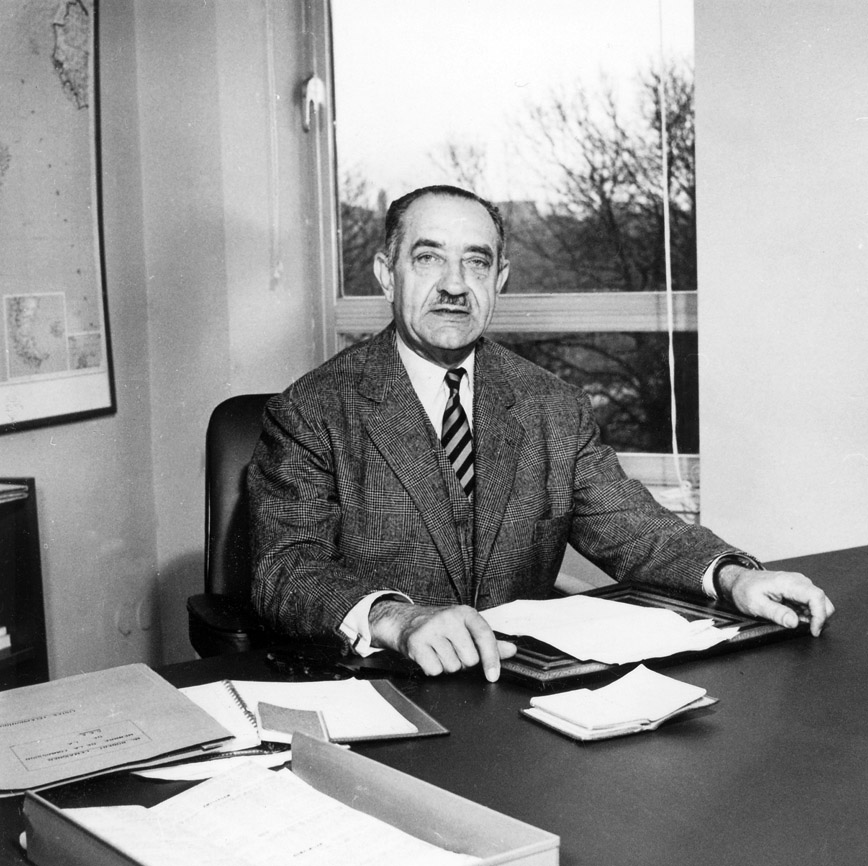 Robert Lemaignen, Member of the Commission of the EEC
