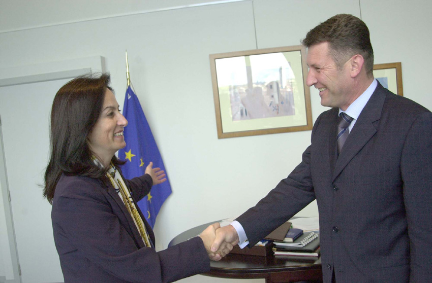 Visit of Dragan Milovanovic, Serbian Minister for Labour and Employmend, to the EC