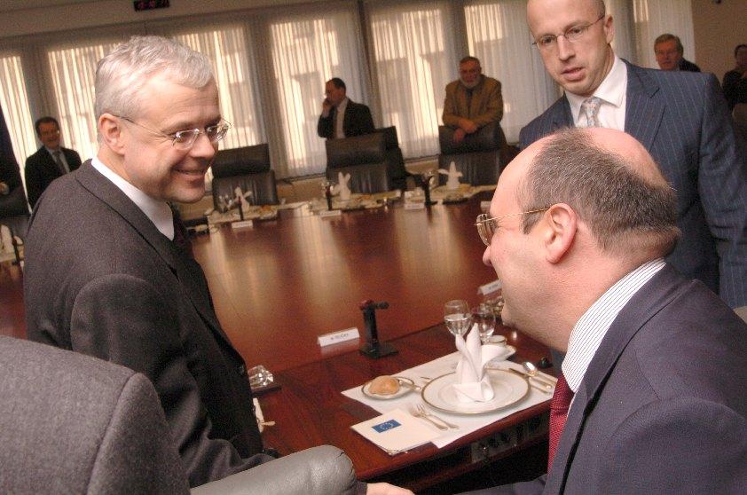 Visit of Vladimír Špidla, Czech Prime Minister, to the EC