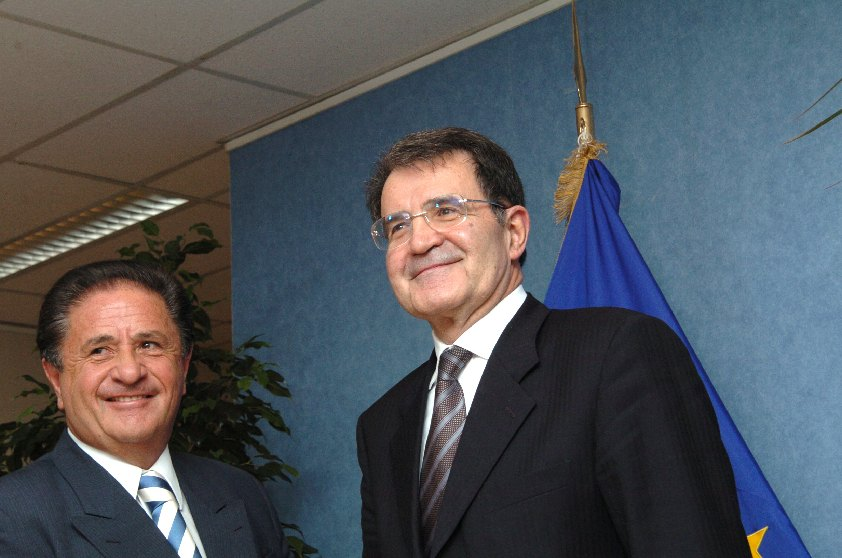 Visit of Eduardo Duhalde, Chairman of the Council of Permanent Representatives of Mercosur, to the EC