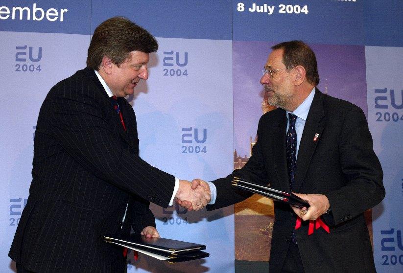 EU/Ukraine Summit, 08/07/2004