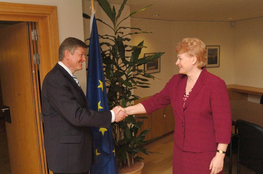 Visit of Artūras Paulauskas, Chairman of the Seimas (Lithuanian Parliament), to the EC