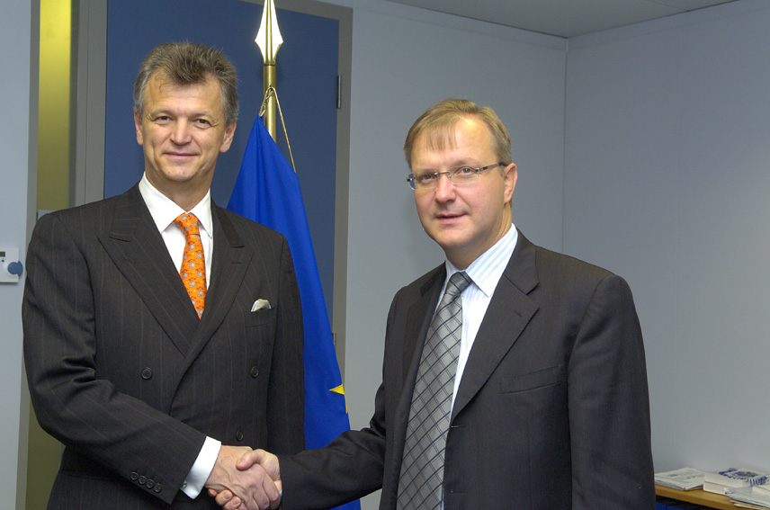 Visit of Miomir Žužul, Croatian Minister for Foreign Affairs, to the EC
