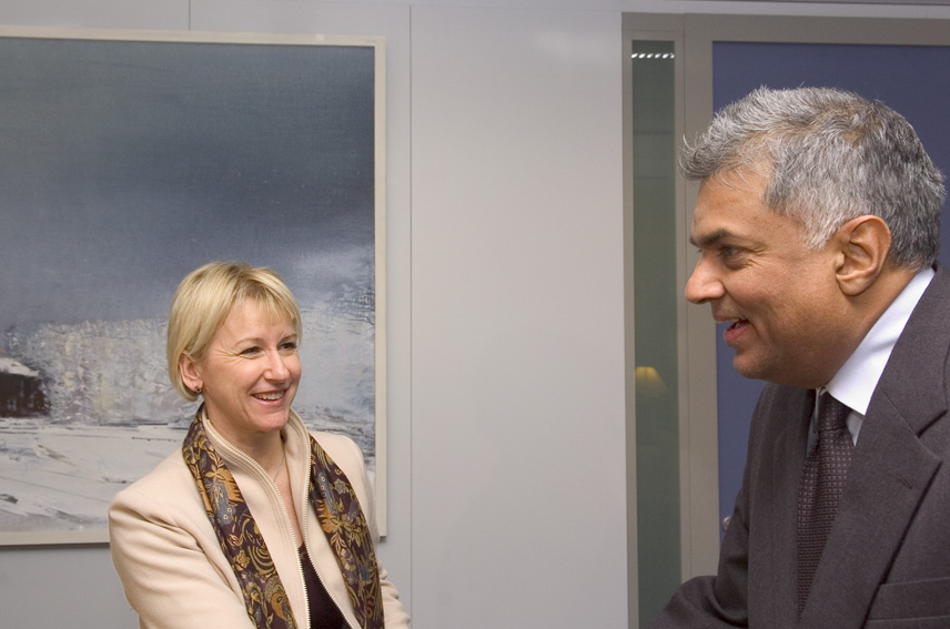Visit of Ranil Wickremesinghe, Leader of the United National Party of Sri Lanka, to the EC