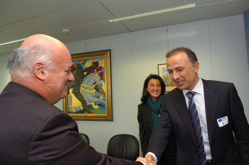Visit of Metin Kalkavan, Chairman of the Turkish Chamber of Shipping, to the EC