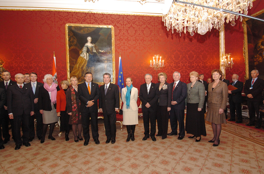 Inaugural meeting of the Austrian Presidency of the Council of the EU