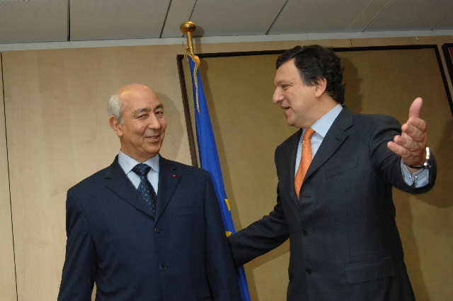 Visit by Driss Jettou, Moroccan Prime Minister, to the EC