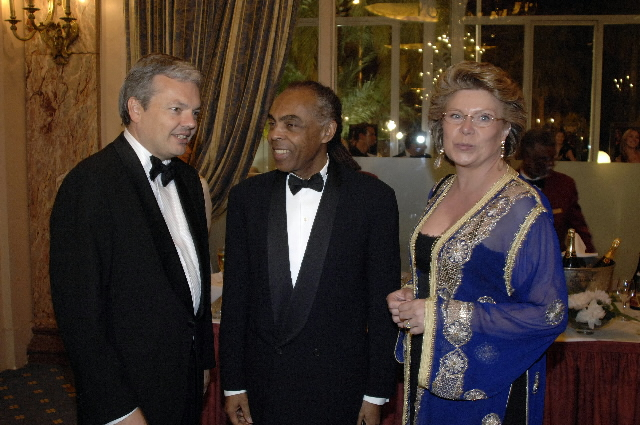 Viviane Reding, Member of the EC, at the 59th Cannes Film Festival