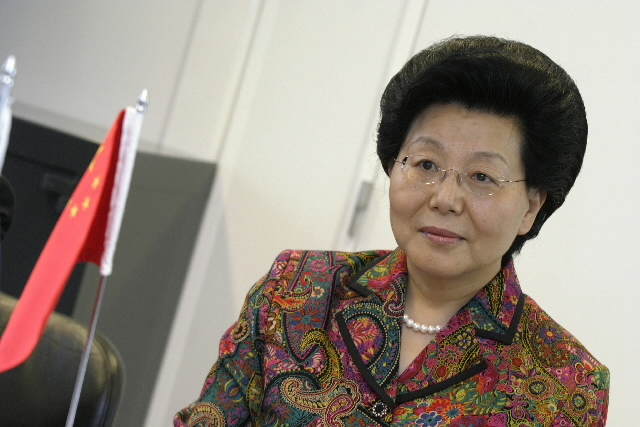 Visit by Ma Xiuhong, Chinese Vice-Minister for Commerce, to the EC