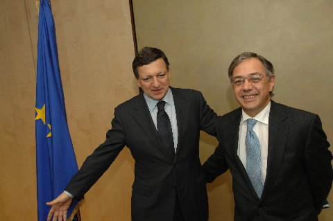 Visit by Vítor Manuel da Silva Caldeira, President of the European Court of Auditors, to the EC