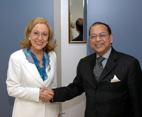 Visit by Iftekhar Ahmed Chowdhury, Bangladeshi Minister for Foreign Affairs, to the EC