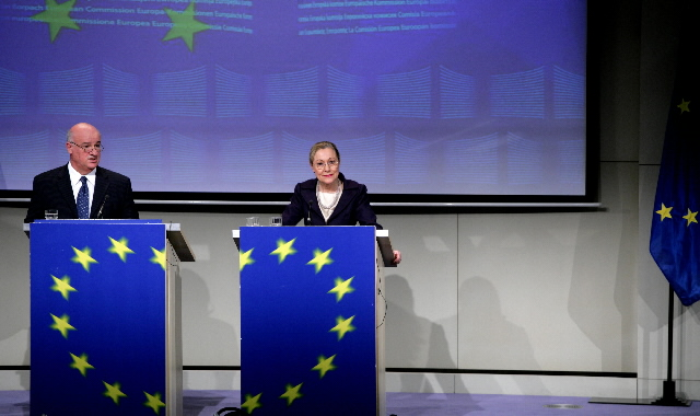 Press conference by Joe Borg et Benita Ferrero-Waldner, Members of the EC, on the Artic Region