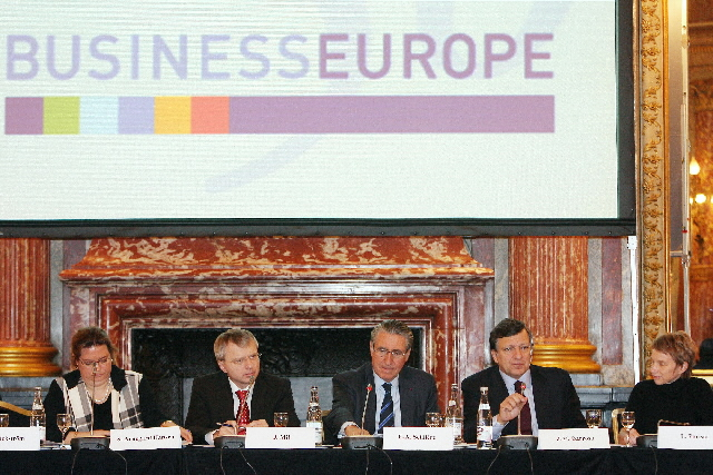 Participation of José Manuel Barroso in the BusinessEurope conference