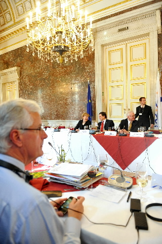 Participation of José Manuel Barroso, President of the EC, in the EPP Summit