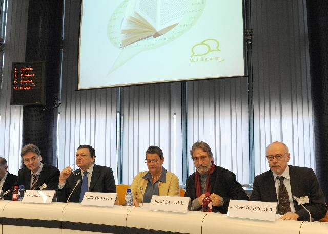 Conférence sur la traduction littéraire et la culture et leur influence sur le renforcement de l'idée européenne