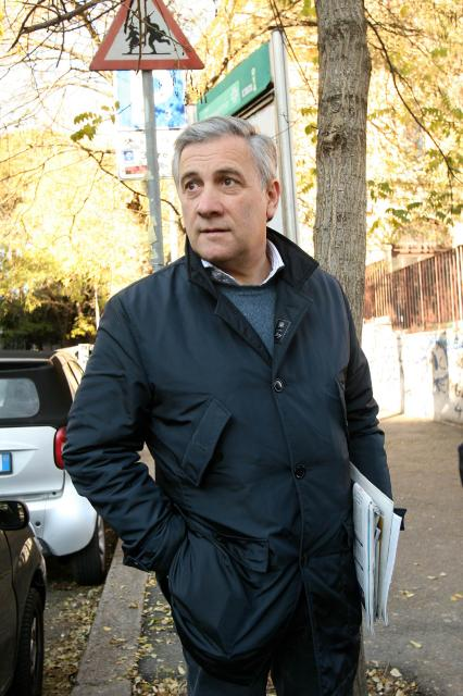 Antonio Tajani, Vice-President designate of the EC