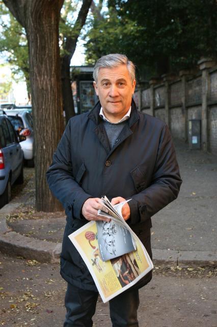 Antonio Tajani, vice-président désigné de la CE