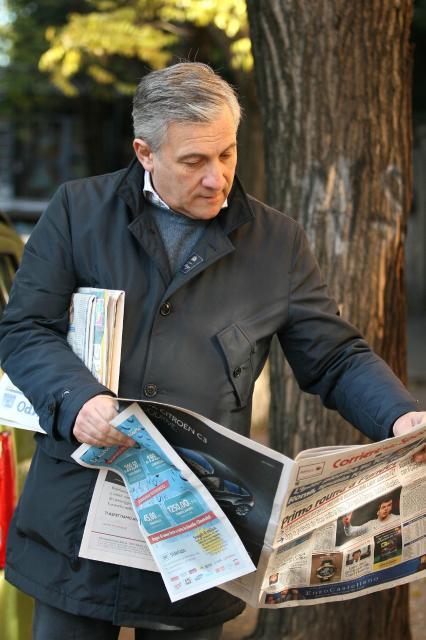 Antonio Tajani, Vice-President designate of the EC