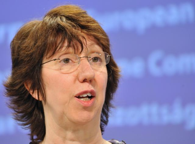Press conference by Catherine Ashton on the situation in Haiti