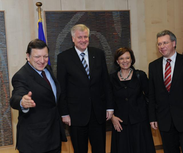 Visit of Horst Seehofer, Minister-President of the Land of Bavaria, to the EC