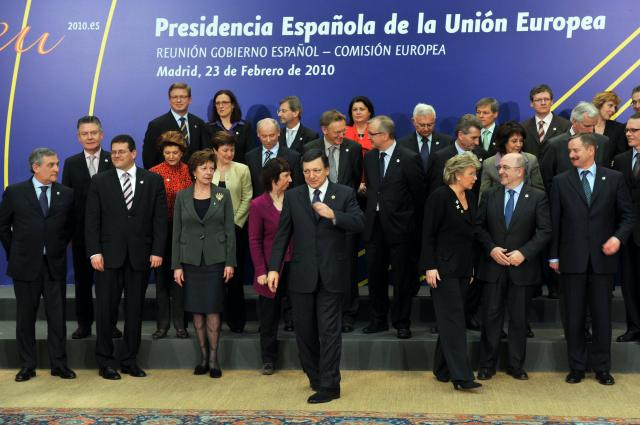 Inaugural meeting of the Spanish Presidency of the Council of the EU with the EC