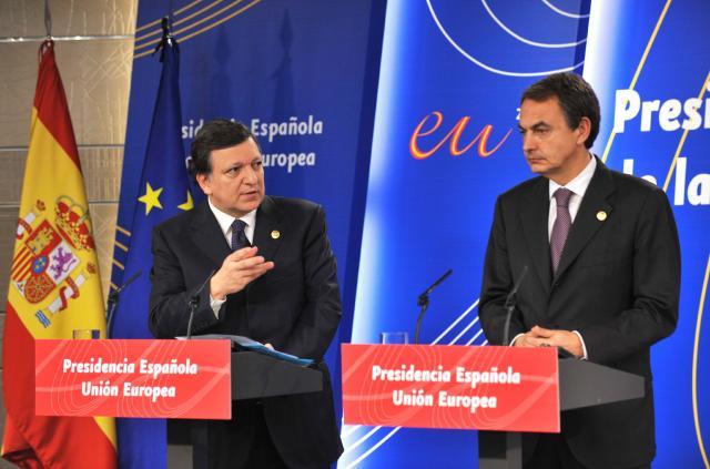 Réunion inaugurale de la présidence espagnole du Conseil de l'UE avec la CE