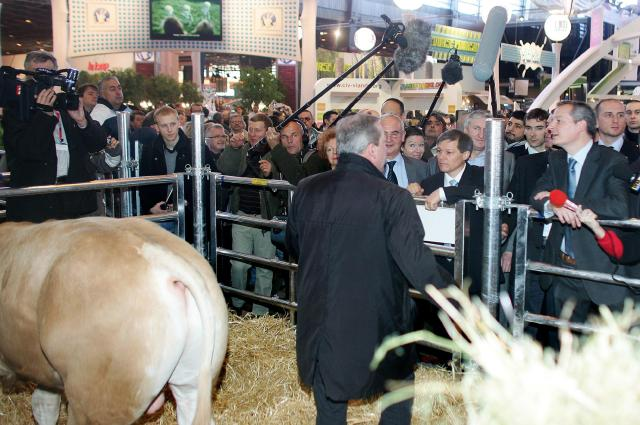 Dacian Cioloş, Member of the EC, at the 2010 International Agricultural Show