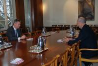 Visit of Karel De Gucht, Member of the EC, to the WTO