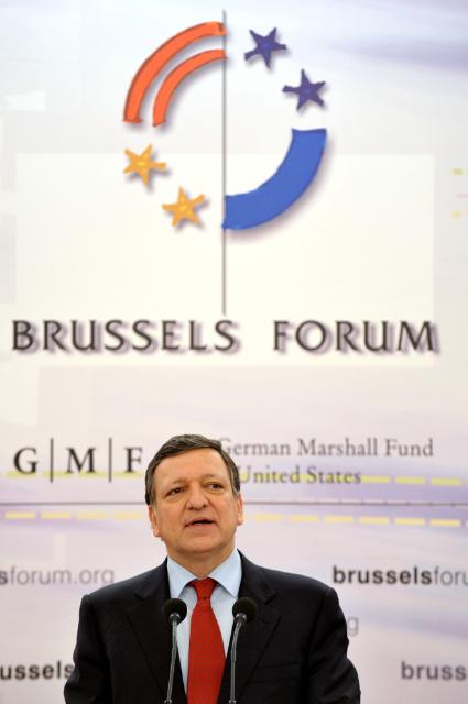 Participation of José Manuel Barroso, President of the EC, at the Brussels Forum 2010