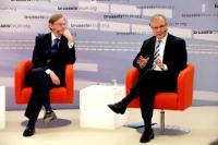 Participation de José Manuel Barroso, président de la CE, au Brussels Forum 2010