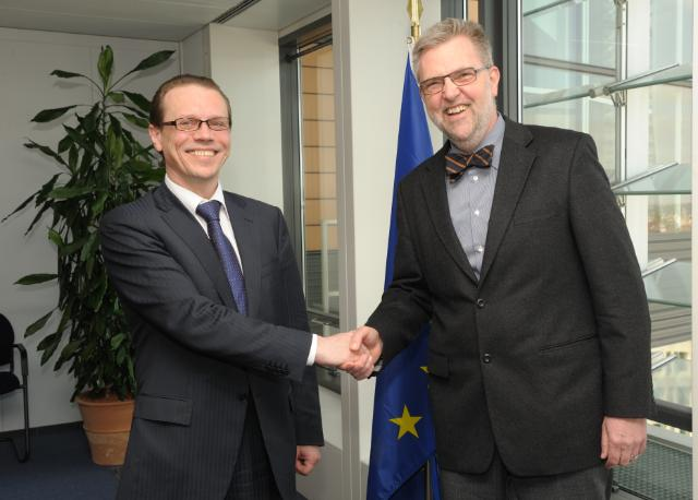Visit of Walter Radermacher, Chief Statistician of the EU and Director General of Eurostat, to the EC