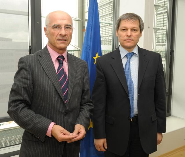 Visit of Jesús Serafín Pérez, President of the Confederation of the food and drink industries of the EU, to the EC