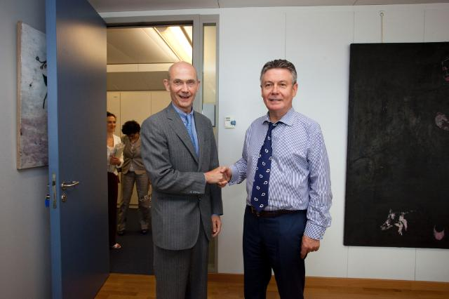 Visit of Pascal Lamy, Director-General of the World Trade Organization (WTO), to the EC
